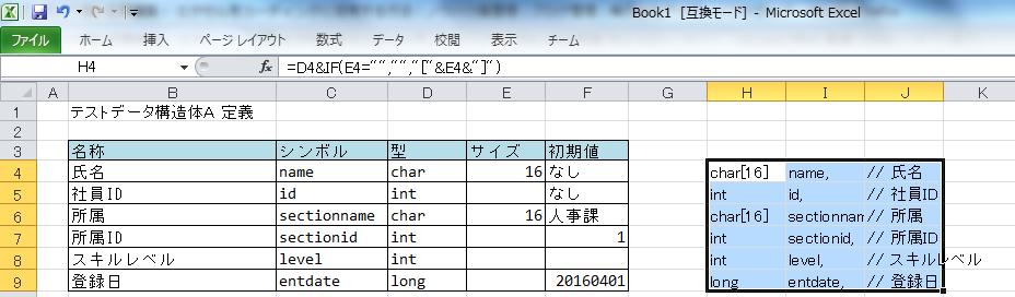 加工したデータ仕様書